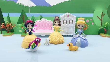 益智玩具:公主们养的宠物,竟然偷吃她们的零食还病了,这可怎么办?