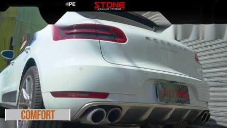 Porsche Macan S / Stone Eddy Catalytic Downpipe