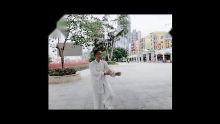 曾维清公园晨练太极拳