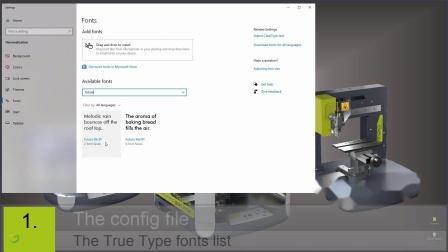 机械雕刻机上ABC软件的高级功能