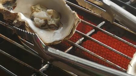 合肥小吃培训学校「烧烤生蚝」合肥金凌美食烧烤制作