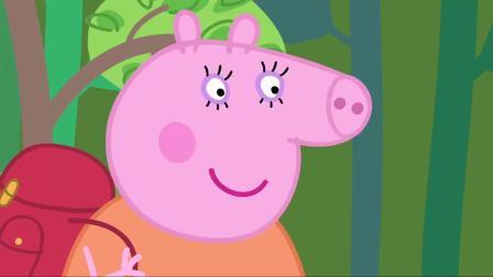 小猪佩奇:佩奇不喜欢森林,里面除了树木,什么都没有呀!