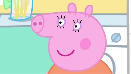 小猪佩奇:佩奇为了见牙仙子,强忍着困意熬夜,真是太拼了!