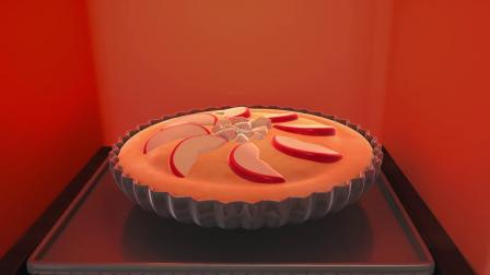 嘟当曼:大家制作苹果派,味道太香了,淘淘曼都被吸引
