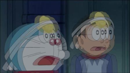 哆啦A梦:头戴菠萝面包,世雄一见到大雄,开口就叫爷爷.