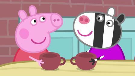小猪佩奇:苏怡很骄傲的说,我的妈妈可以做真正的陶器,真厉害!