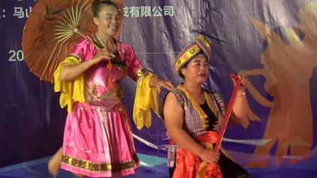 舞蹈《新龙船调》马山勉圩文艺队演出