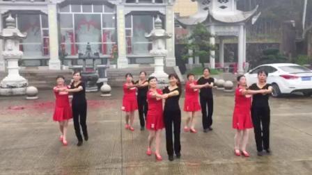 玉山健身舞蹈队2020年七月二十五三龙寺庙会秀舞双人舞《梁祝》