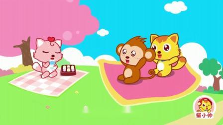 《猫小帅儿歌哆来咪》坐着魔法飞毯冒险,金色小鹿蹦蹦跳跳带来阳光