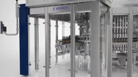 Krones Dynafill - Filling and capping within only five seconds