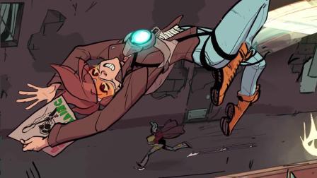 【游民星空】《守望先锋》猎空的漫画大挑战