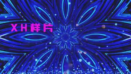 B854梦想励志年会歌曲光效粒子图腾我的梦配乐成品led大屏幕背景视频素材