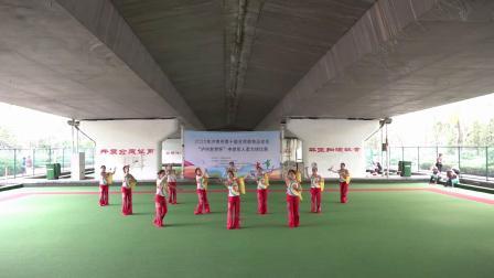 2020年济南市柔力球比赛集体自编《东方红》济南老干部活动中心代表队
