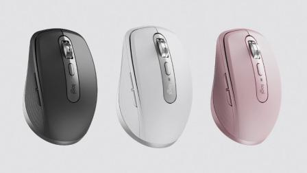 罗技 MX Anywhere 3 无线紧凑型高性能鼠标