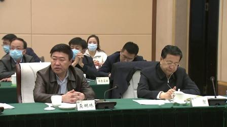 中植集团董事长解直锟,参加巴彦卓尔与中植集团等签署战略合作框架会议