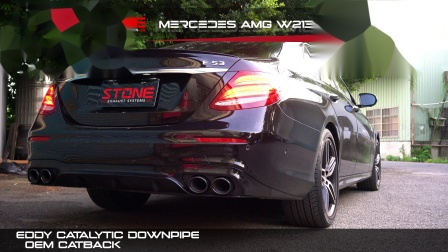 Mercedes AMG W213 M256 E53 / Stone Eddy Catalytic Downpipe
