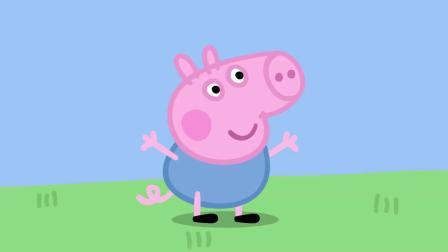 小猪佩奇:小狼温蒂是个怪物吧,光用吹的方式,就能推动秋千!