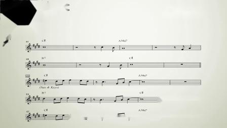 【爵士練習】AltoSax:轉錄Kenny Garrett - Sing a Song of Song (Eb)