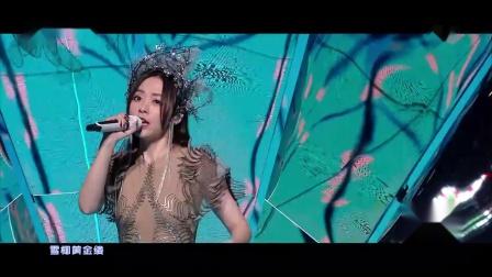 200919张靓颖好奇夜演绎《千百度》