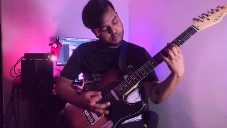 【吉他演示】印度前卫金属 Sunny Samuel Lohar - Perception