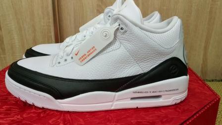 Air Jordan 3 SP Fargment闪电