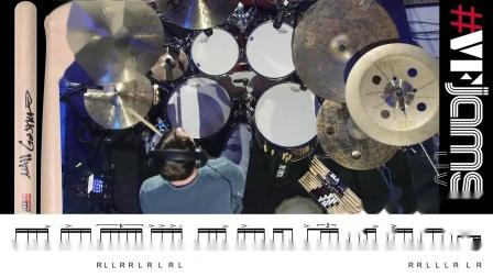 【套鼓練習】轉錄Matt Garstka - vfJAMS LIVE