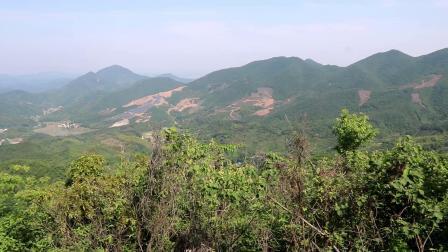 固始县最高峰华阳大佛山主峰风景欣赏