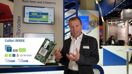 CODESYS - 在 Colibri iMX8X 计算机模块上使用 Torizon 的 Runtime Test Adaptation