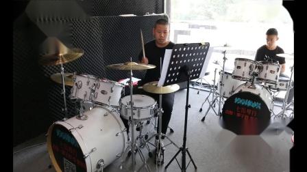 泰安七乐琴行  薛佳航  架子鼓演奏 《好想大声说爱你》
