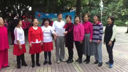 红歌队小合唱《我们爱唱歌》