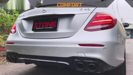 Mercedes AMG W213 M276 E43 / Stone Cat-less Downpipe