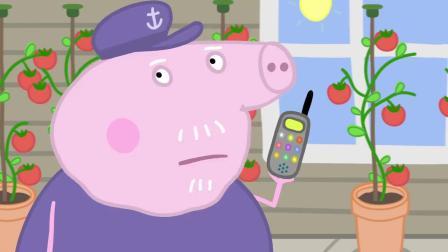 小猪佩奇:猪爸是跳泥坑冠军,但是他的记录被打破了,邻居慌了