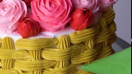 裱花玫瑰蛋糕培训-壹度可可西点烘焙学院