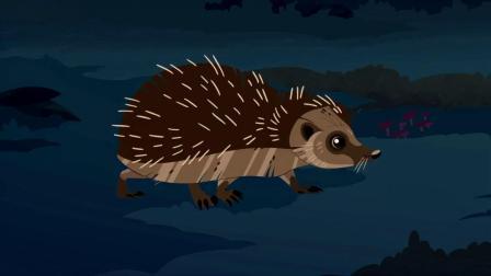 动物兄弟:火蜥蜴有绝招,连刺猬都不怕,大家一起来看看吧