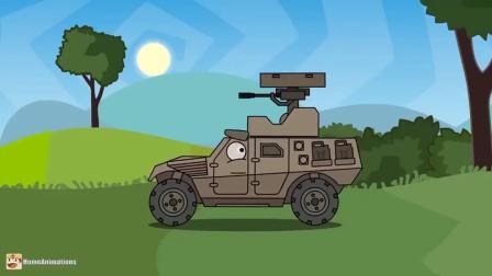 坦克世界:坦克小卡车开始去旅行