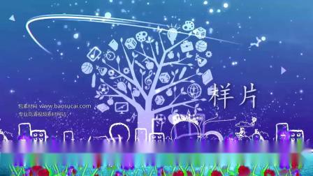 c776 童年校园歌曲演唱舞台LED大屏幕视频素材 包素材网