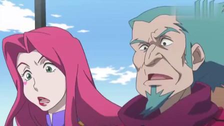 陀螺战士:美娜这一家子也太强了吧人的力量竟然能抗衡机械
