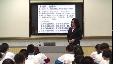 游山西村_语文_初中(特等奖)-初中语文优质课(2019)