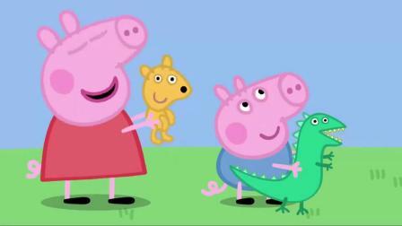 小猪佩奇兔小姐做生意,佩奇抽到热气球之旅,真幸运