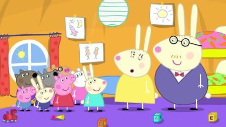 小猪佩奇:复活节兔子,它到底是什么样,小朋友发挥想象