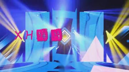 B856画画的baby动感灯光炫酷开场舞蹈配乐成品led大屏幕背景视频素材