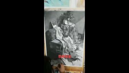 登峰画室(济宁市登峰艺术教育培训学校)学生素描长期作业分享