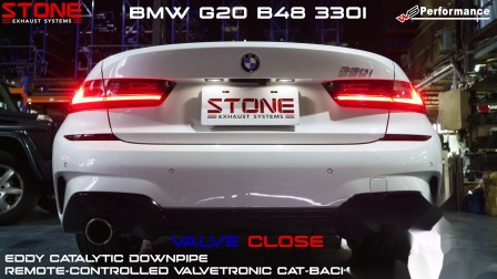 BMW G20 B48 330i / Stone Turbo-back Exhaust System