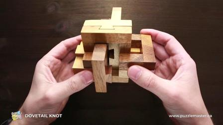 Dovetail Knot from Rombol - Solution