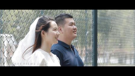「YANG DI + HUANG NINGNING」昆仑酒店婚礼快剪 | 暄影像工作室