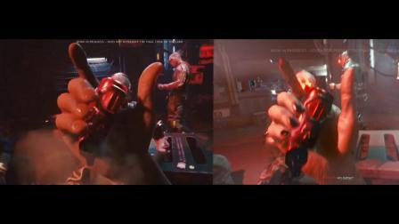 【游民星空】《赛博朋克2077》新旧视频画面对比