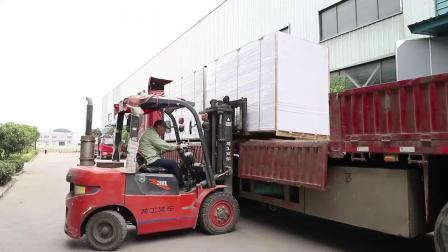 PVC发泡板生产厂家 厂区全景展示