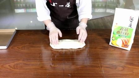 轻松烘焙——毛毛虫面包