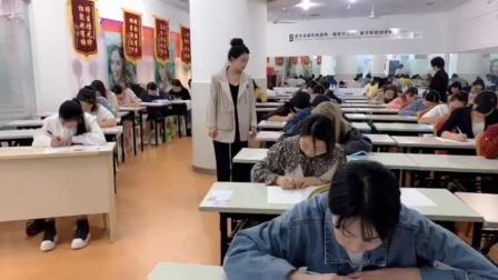 重庆峰翎职业培训学校美容美发技能考试