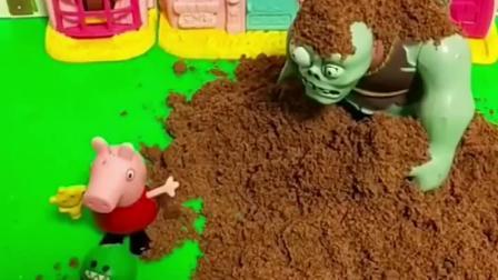 儿童玩具:乔治成了一个跟屁虫